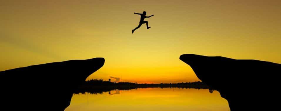 Jumping a gap
