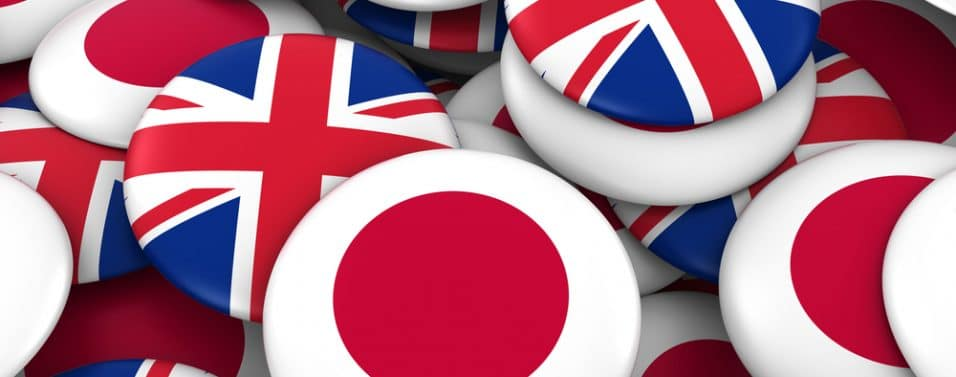 UK and Japan buttons