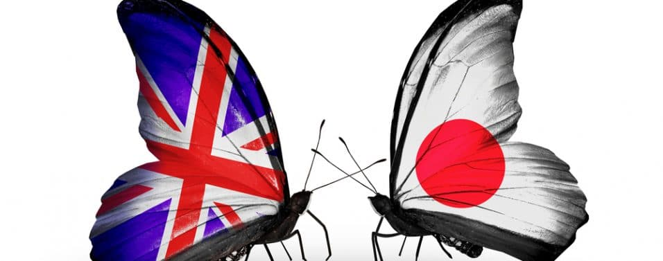 British and Japanese butterflies