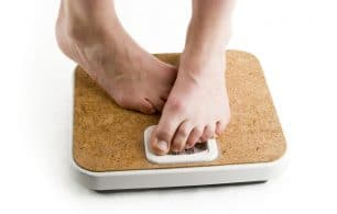 Tip toeing on scales