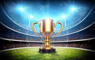 Winning cup stadium