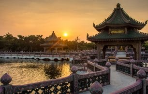 China historical landmark