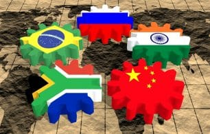 emerging market flags