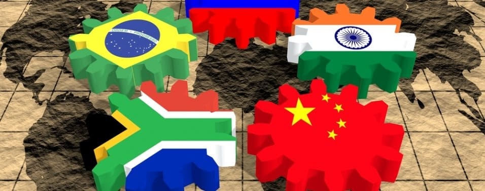 emerging market flags