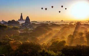 Balloons over Myanmar