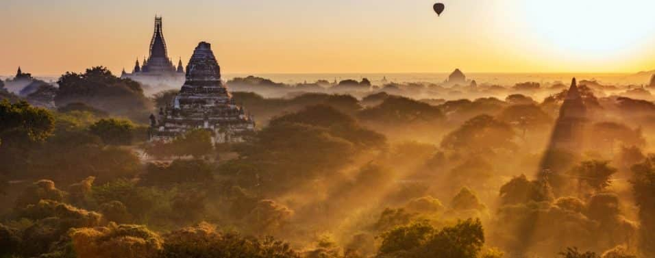 Balloons over Myanmar