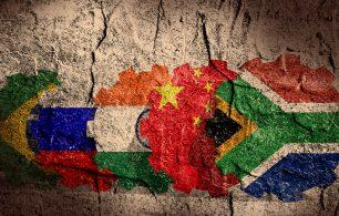 BRICS flags