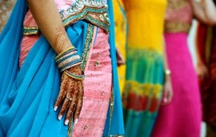 India henna tattoo