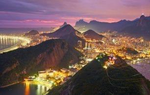 Rio de Janeiro night