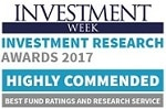 Investment Week Highly Commended 2017 logo