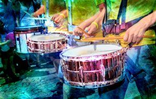 Brazilian drums