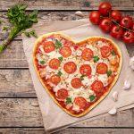 Valentines pizza