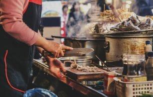 Korean street stall