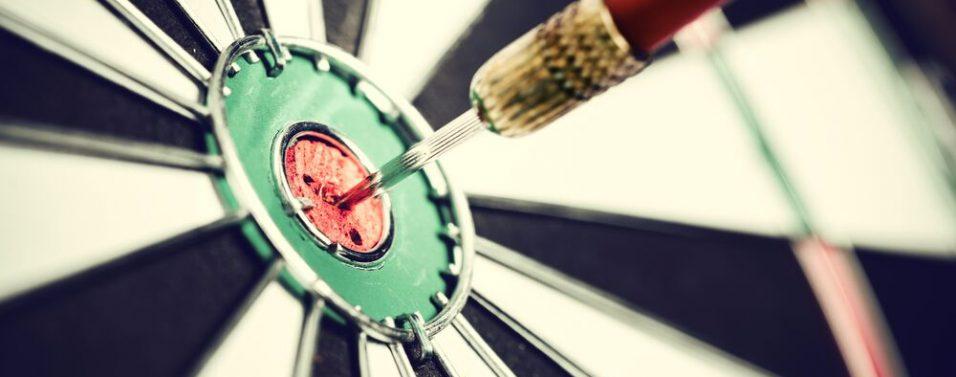 Darts target