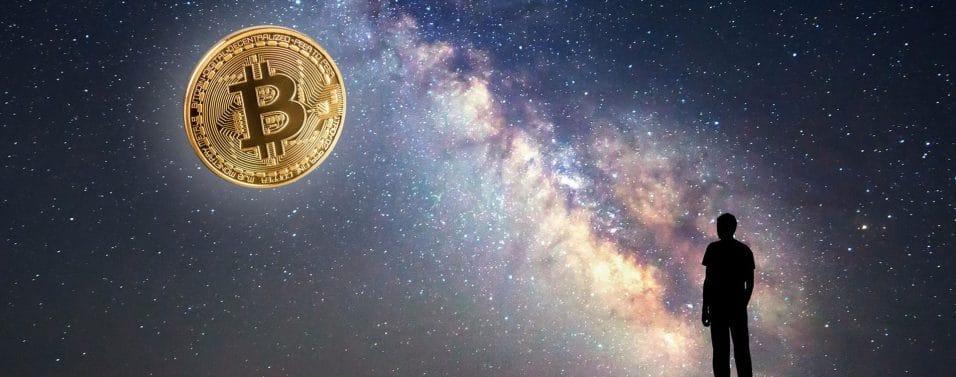 Bitcoin in sky