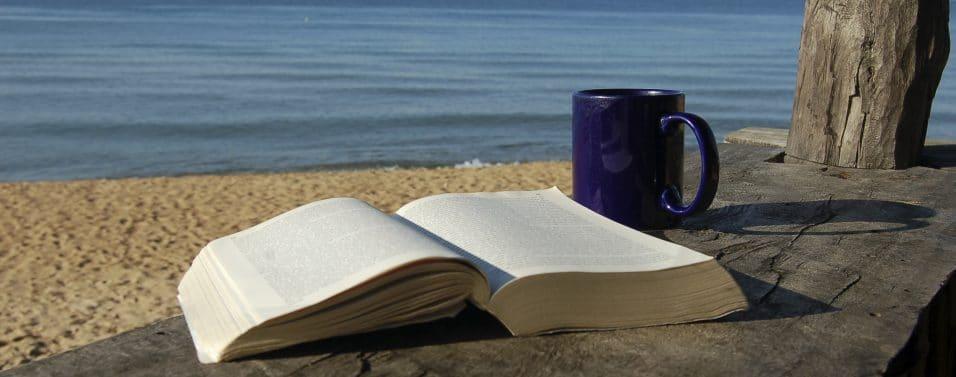 Beach Book Coffee Mug