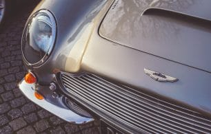 Aston Martin close up