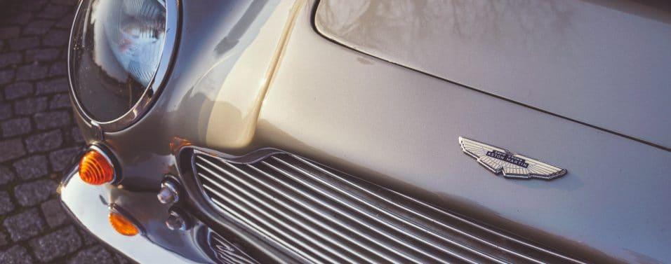 Aston Martin close up