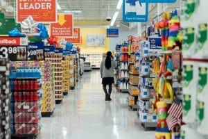 millennials in supermarket