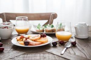 fancy breakfast at home
