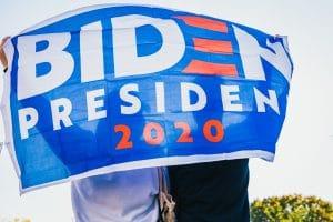 Biden for President 2020 flag