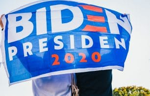 Biden for President 2020 flag